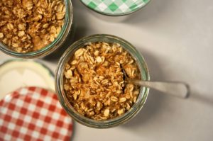 breakfast: overnight oats